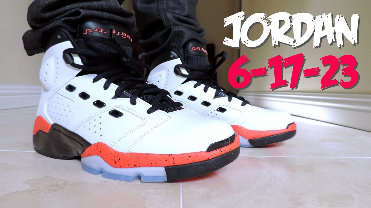 On Feet #4 | Air Jordan 6-17-23 | Infrared 23 | Cal Strange Music |  Niclacoste | 2014 - YouTube