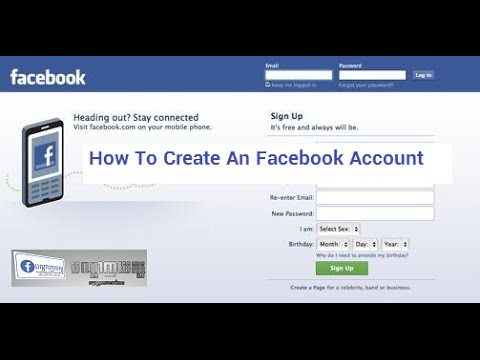 How To Create An Facebook Account Speak English Youtube