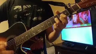 Blackpink 블랙핑크 'forever young' w/ acoustic guitar cover