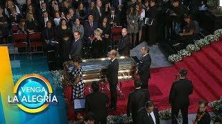 José Joel, Marysol y Anel en Bellas Artes le rinden honor a José José. | Venga La Alegría