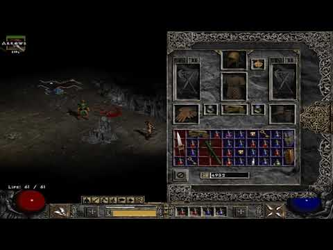 Diablo II  Lord of Destruction the search for cain scroll of inifuss