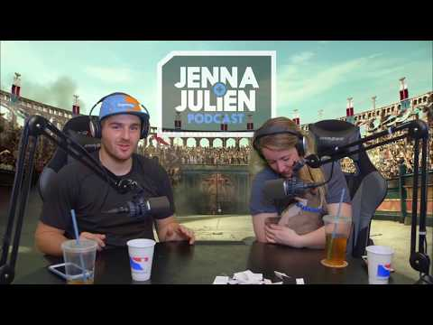 Jenna Julien Podcast Best/Funniest Moments 2017 part 1