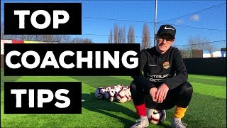 Soccer Coaching Tips For Beginner Coaches
