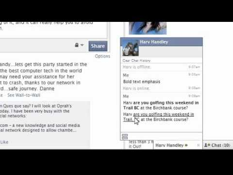TipsTricksbyRandyMac - Facebook Chat Codes For Emphasizing Chat Messages