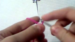 1 видеоурок.Вязание крючком.Цепочка из воздушных петель.