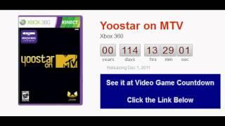 Yoostar on MTV Xbox 360 Countdown
