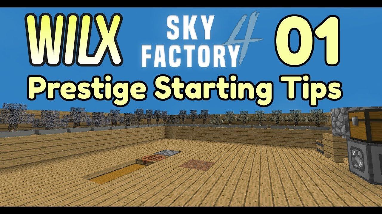 01 - SkyFactory 4 Prestige Starting Tips