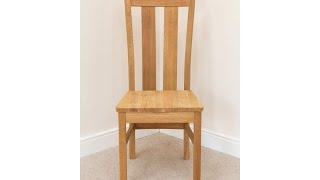 Churchill Timber Seat Dining Chair