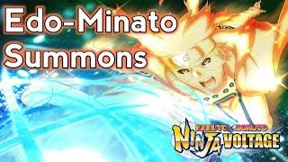 1.5k summons on Edo-Minato! | Naruto x Boruto Ninja Voltage