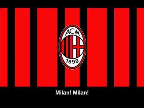 Inno Associazione Calcio Milan (Testo) - Hino do A.C. Milan (letra)