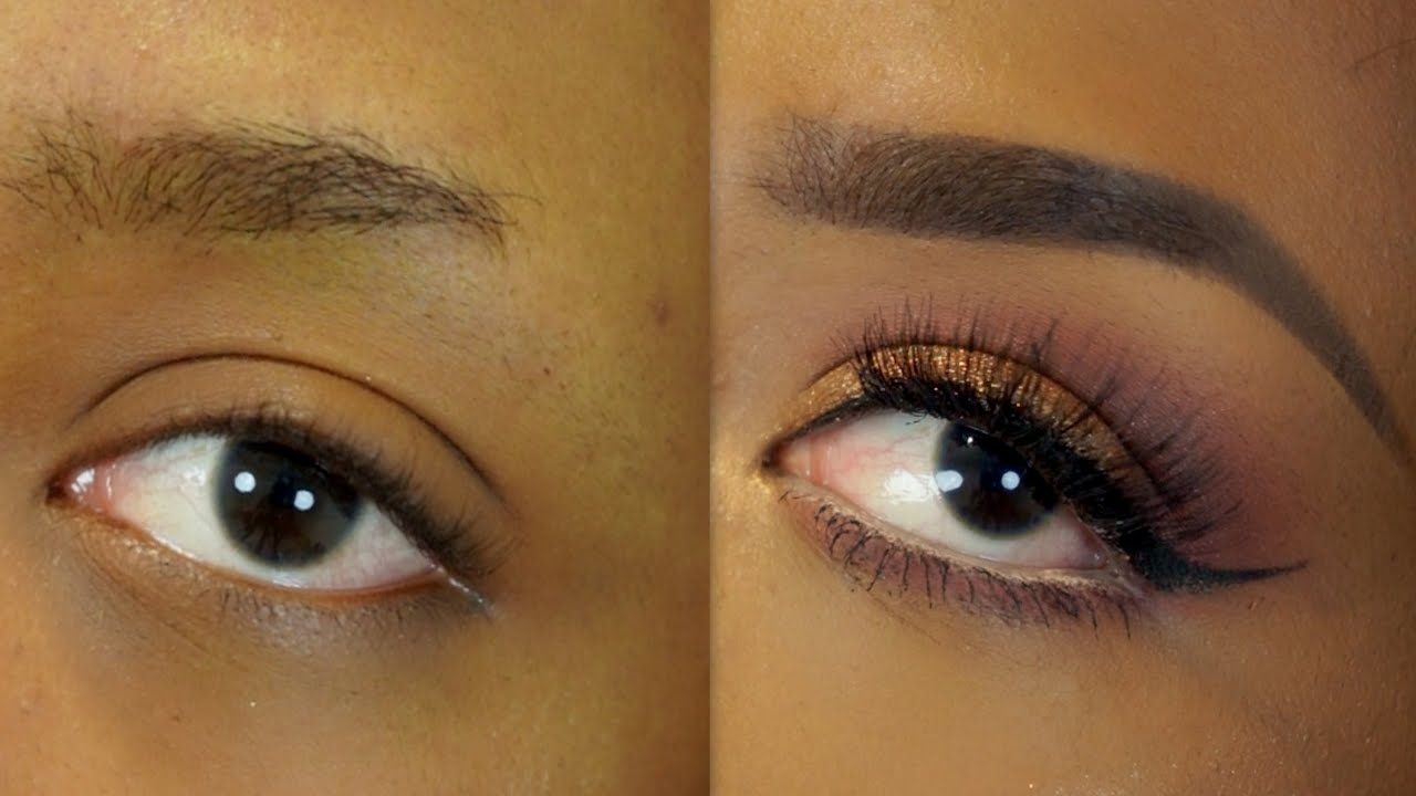 Easy Natural Faded Eyebrow Tutorial Beginner Friendly Youtube
