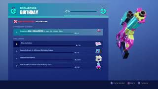 *FREE* FORTNITE 'BIRTHDAY REWARDS' SHOWCASE!