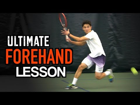 ULTIMATE Forehand Tennis Lesson - Technique for MAXIMUM POWER and TOPSPIN
