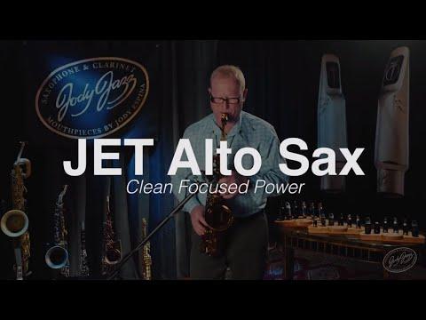 JodyJazz JET Alto Saxophone Mouthpiece as demonstrated by Jody Espina