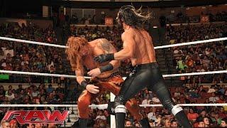 Heath Slater vs. Seth Rollins – Beat the Clock Challenge: Raw, Aug. 4, 2014