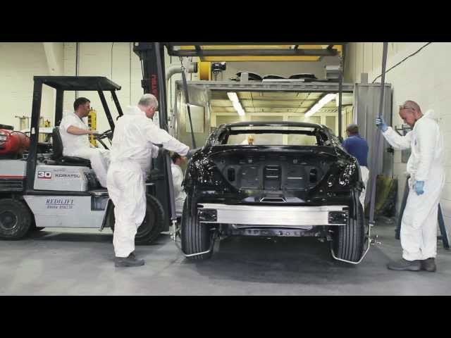 How a Jaguar Limousine is made