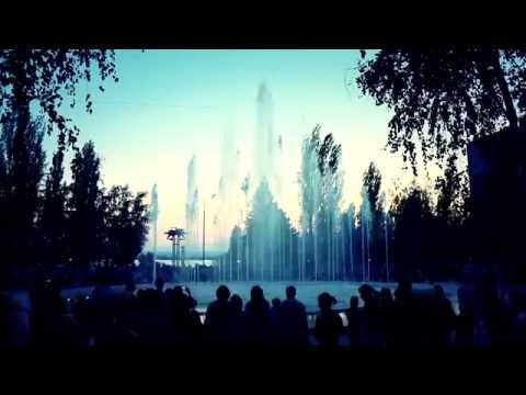 Светомузыкальный фонтан в Нововоронеже