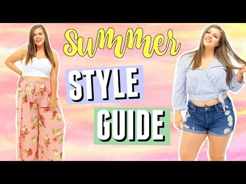10 Summer Fashion Essentials! Curvy Style Guide for Summer!. http://bit.ly/2Xc4EMY
