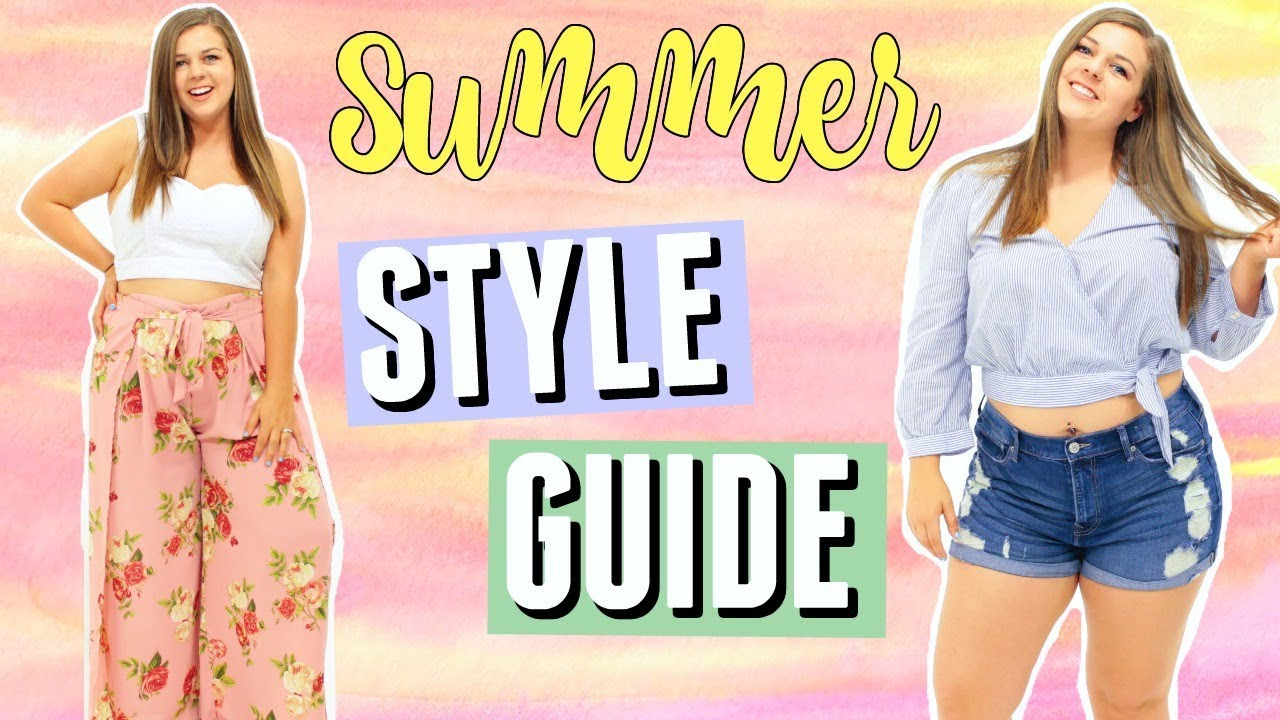 [VIDEO] - 10 Summer Fashion Essentials! Curvy Style Guide for Summer! 2