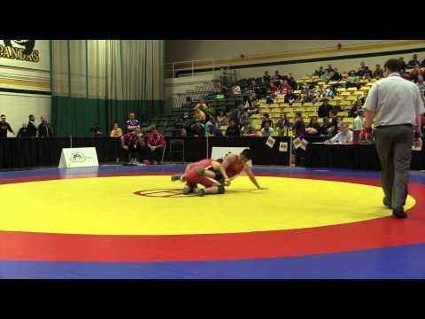 2015 CIS Championships: 54 kg Bronze Mario Tran vs. Sam Jagas