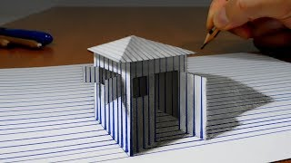 La Casa de Papel   3D Trick Art on Paper