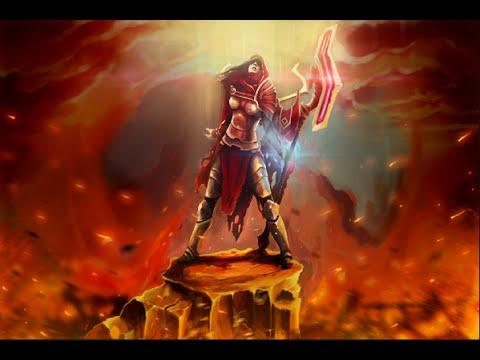 Dota 2 Store Errant Soldier New Legion Commander Set YouTube