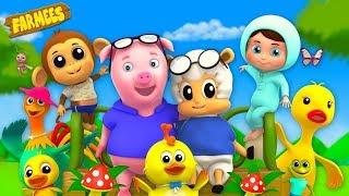 Baby Nursery Rhymes & Kids Songs | Cartoon Videos | Animal Rhymes | Children Songs
