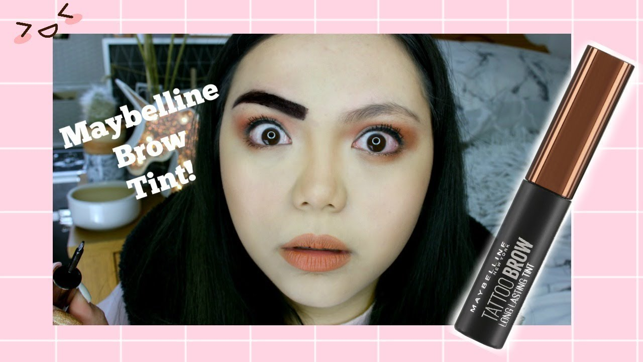 Maybelline Peel Off Brow Tint How Long Does It Really Last Youtube