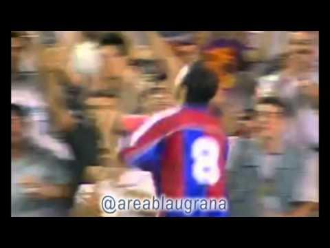 Julen Lopetegui en el FC Barcelona