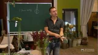 Урок флористики Славы Роска: Альтернативная техника свадебного букета