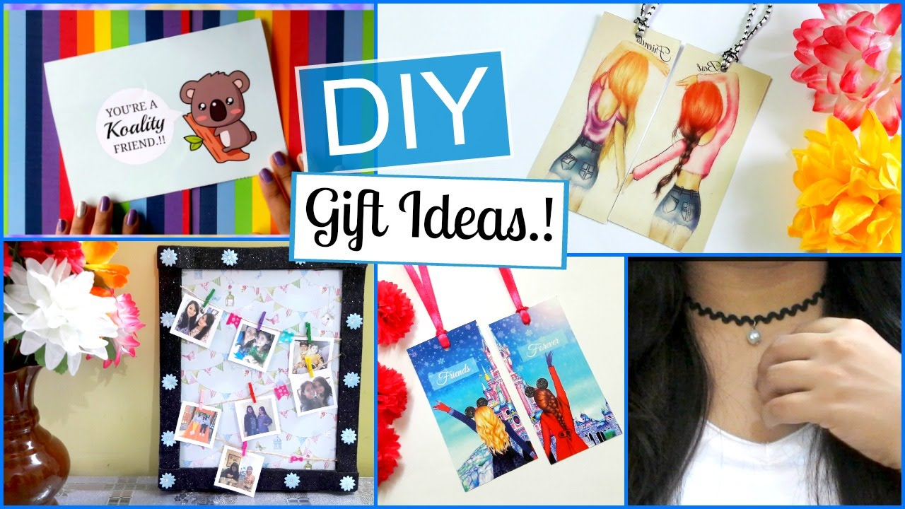 Diy Friendship Day Gift Ideas Easy And Last Minute Youtube