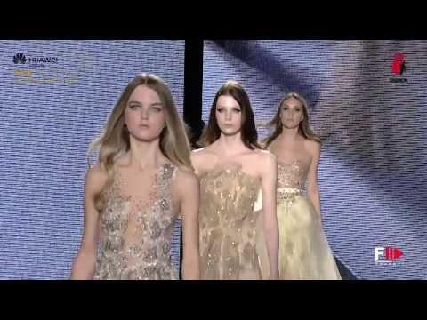KACEM SAHL Arab Fashion Week Autumn Winter 2017 Dubai by Fashion Channel