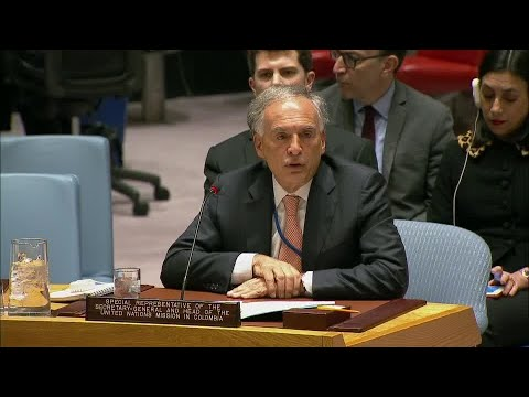 The situation in Colombia - Security Council, 8154th meeting