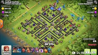 Th12 farming strategy with electro dragon- clash of clans