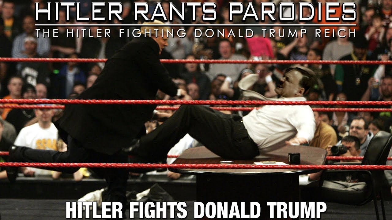 Hitler fights Donald Trump
