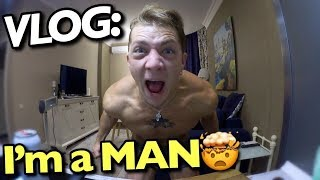 VLOG: I'm a MAN! / Андрей Мартыненко