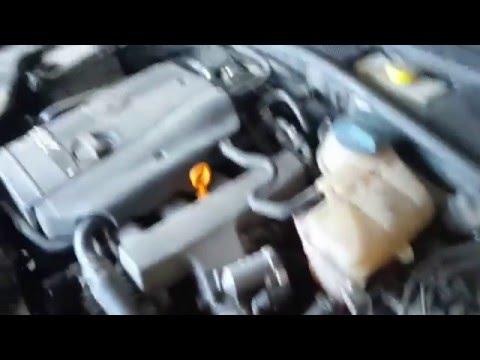 Диагностика датчика ДМРВ VW Passat.