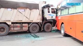 Phụ xe khách Phương Trang chết thảm giữa quốc lộ 1A