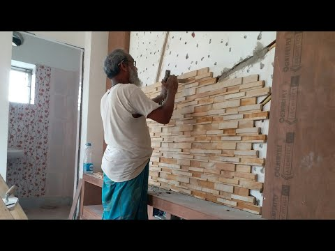 How To Install Wall Stone Cladding | Stone Cladding In Kolkata.