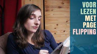 ASMR - Gezellig! Dutch Reading & Page Flipping