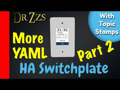 DrZzs Home Automation Live Stream (Yaml Automations / HA Switchplate)(12 Streams Of Christmas #1)