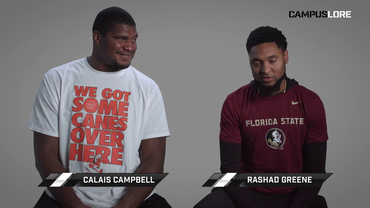 Rashad Greene vs Calais Campbell FSU Win Streak