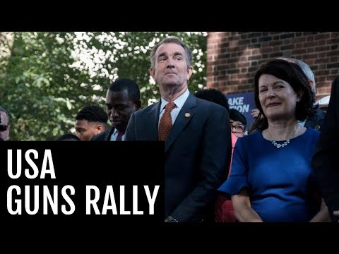 🔴 Warning of 'serious threats' Virginia governor bans weapons at gun-rights rally from YouTube · Duration:  2 minutes 8 seconds