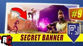 SECRET Banner Location WEEK 9 Fortnite (Previously Secret Battle Star / Season 5)
