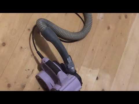 Шлифование деревянного пола  ручной ленточной шлифмашинкой своими руками возможно!