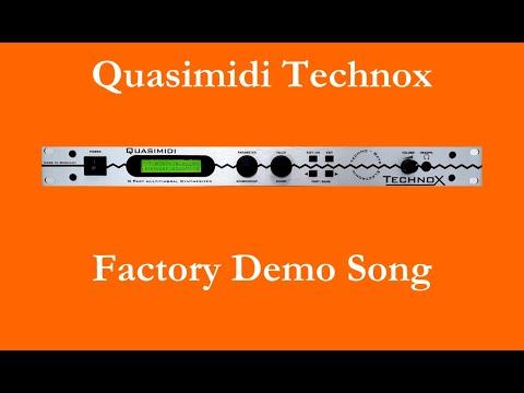 Quasimidi Technox - Factory Demo Song