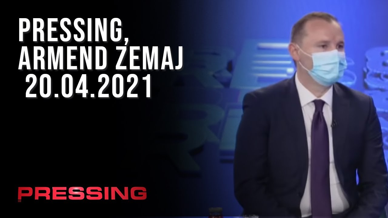 PRESSING, Armend Zemaj - 20.04.2021
