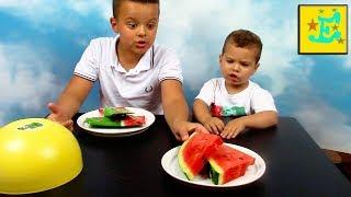 Смешное видео Челлендж Мороженое против Обычной еды ICE CREAM vs REAL FOOD for kids