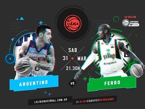Liga Nacional: Argentino vs. Ferro | #LaLigaEnTyCSports