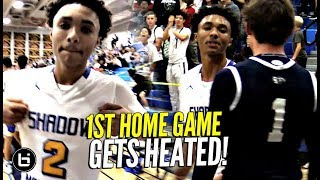 GETS HEATED!! Shadow Mountain 1st Home Game! The Squad TURNS UP THE HEAT!